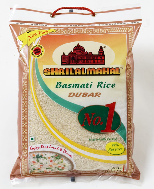 Basmati Rice Dubar in India
